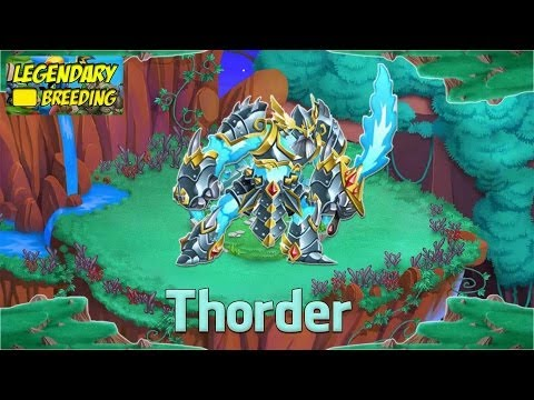 Monster Legends - How To Get Thorder (Legendary) + Combat