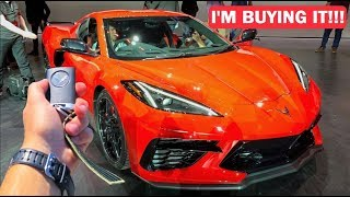 I'M BUYING A 2020 C8 CORVETTE!!! EVERYTHING REVEALED! *HORSEPOWER, PRICING, AND MORE!*