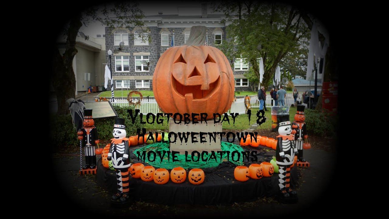 Halloween movie town