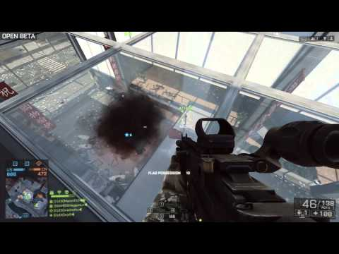 Battlefield 4 Beta + Shanghai CQL Atlanta Fragnet net + R2 Oct 7 POST PATCH LAG TIME with KFS crew