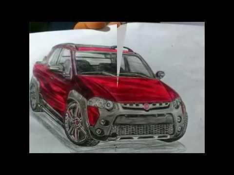 desenhos de carros e caminhoes
