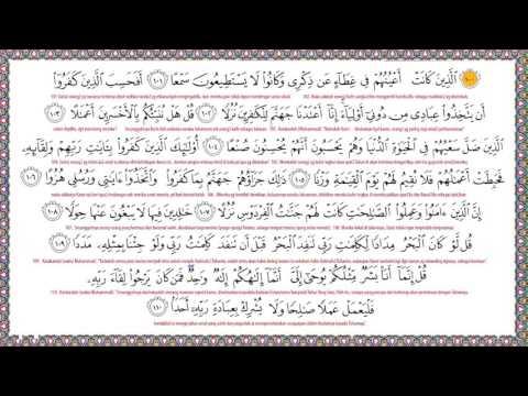 SURAH AL KAHFI 10 Ayat Pertama Dan 10 Ayat Terakhir