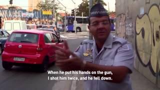 Violence caught on video in São Paulo