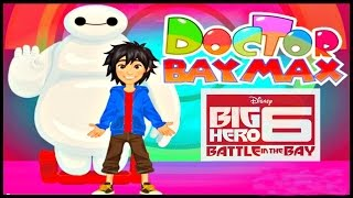 ♡ Big Hero 6 - Doctor Baymax - Cute Gameplay For Little Children