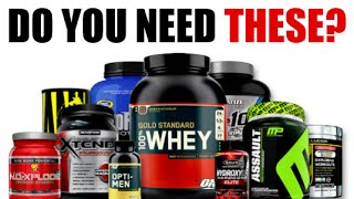 THE BEST BODYBUILDING SUPPLEMENTS FOR BEGINNERS | SHOCKING TRUTH REVEALED!!
