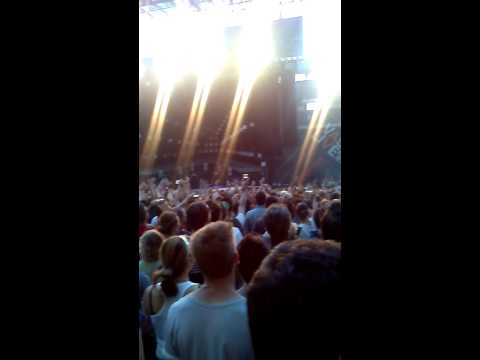 Inizio concerto Vasco 10/07/2014