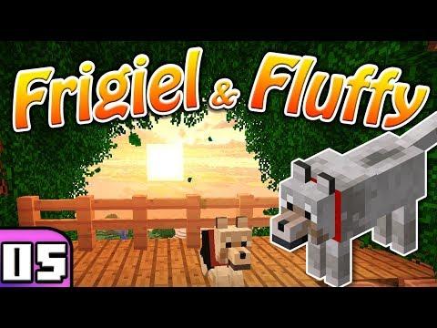 FRIGIEL & FLUFFY : LA CABANE PERCHÉE | Minecraft - S5 Ep.05 thumbnail