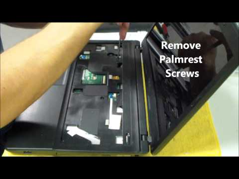 Asus X54C/H/L K54L AC DC Power Jack Repair