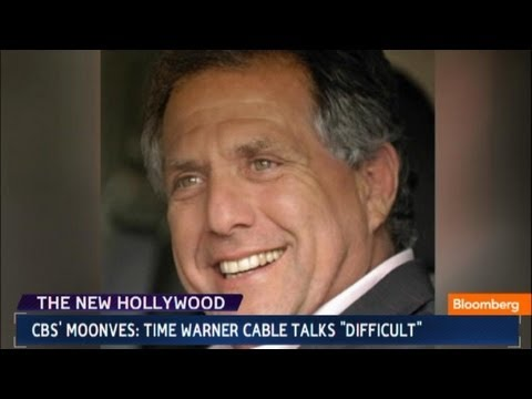 CBS' Moonves: Time Warner Cable Talks `Difficult'
