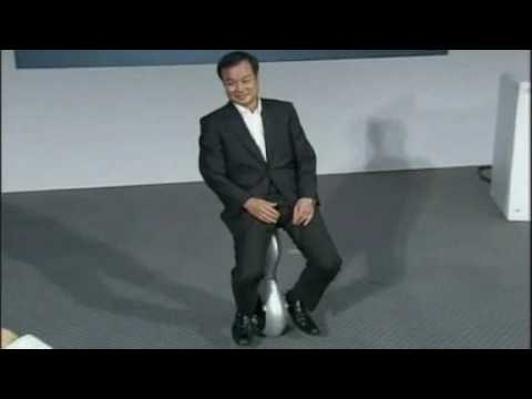 Honda unveils 'Segway-style' unicycle - worth watching Video