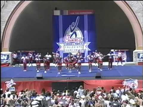 Trinity Valley Community College NCA Cheer Nationals Lucy Strom 2004