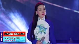 [KARAOKE] Chiều Sân Ga - Lưu Ánh Loan