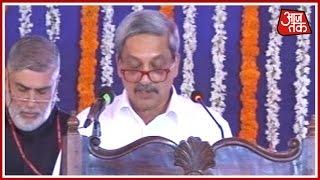 Manohar Parrikar Sworn In As Goa's CM In Presence Of Governor Part 1
