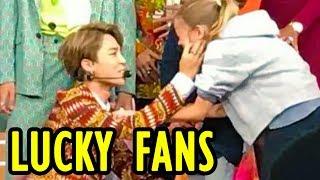 👄 BTS Lucky Fans | BANGTAN BOYS Fan Service ❤