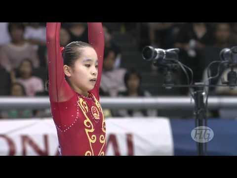 Artistic Worlds 2011 TOKYO - Women's Apparatus Final: Balance Beam, Floor - We are Gymnastics!