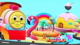 Trains for children - chu chu train - Train cartoon for kids - Cartoon Train - train