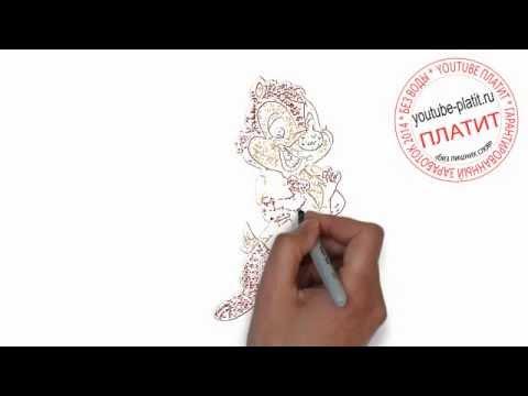 Видео как нарисовать бурундука карандашом поэтапно