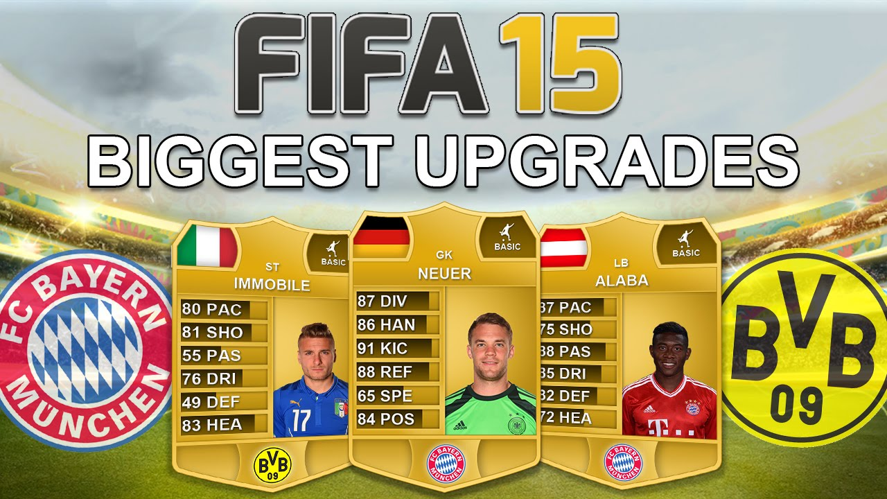 fifa upgrades