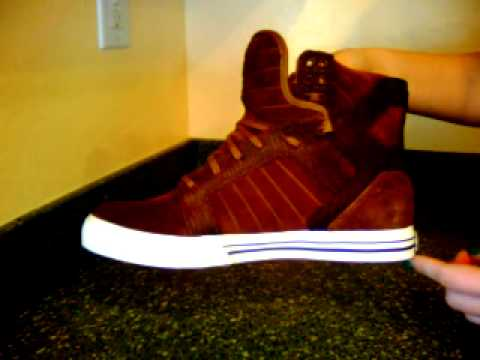 Supra Skytop - Brown Suede/Brown Croc