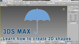 3ds Max Line Tool - Easy Beginner Tutorial