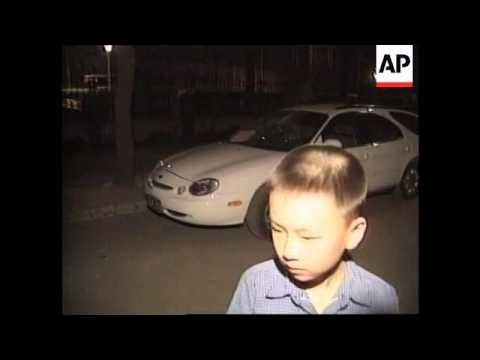 CHINA: BEIJING: NATO BOMBING OF BELGRADE EMBASSY PROTESTS (2)