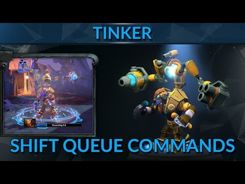 Shift Queue Commands for Tinker | Tinker Guide Mid | Dota 2 Pro Guide