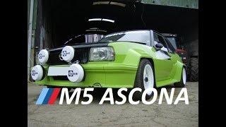 E34 M5 Powered Opel Ascona Drift Car