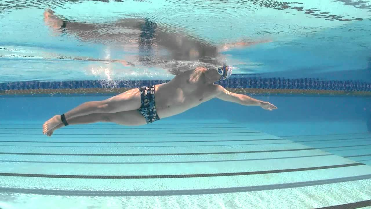 how to swim well whilst wearing a band youtube