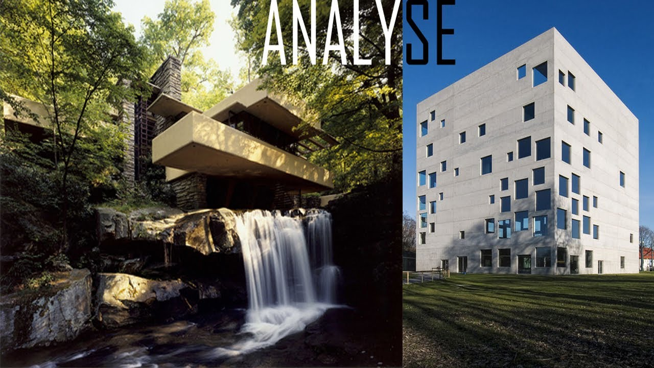 Analyse falling water frank lloyd wright et for Analyse air maison