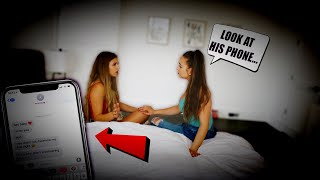 SHE TOLD MY GIRLFRIEND I CHEATED ON HER... (LOYALTY TEST)