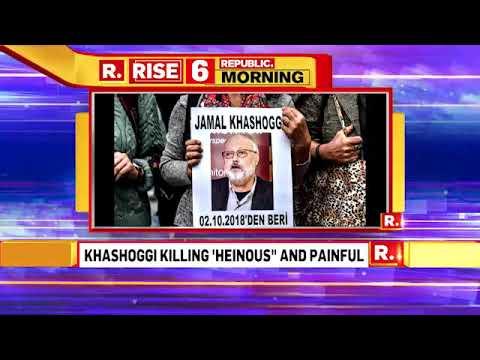 Saudi Arabia's Foreign Minister Adel al-Jubeir Calls Journalist Jamal Khashoggi's Killing Hysteric