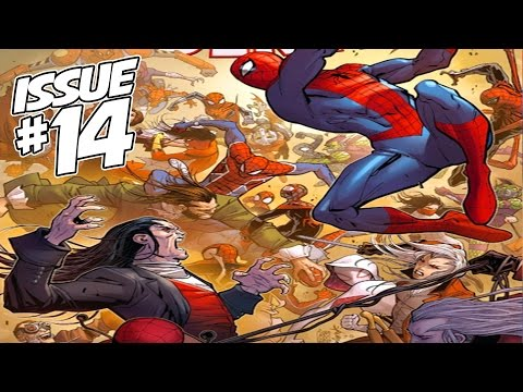 The Amazing Spider-Man Issue #14 (Spider-Verse - FINALE) Full Comic Review. Giveaway & WINNER!
