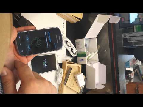 Cricket Wireless Samsung Galaxy Discover and Samsung Galaxy S4 Unboxing