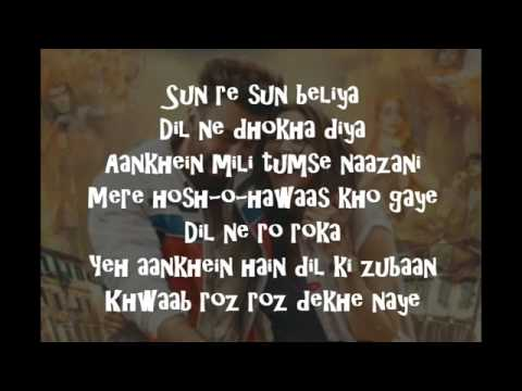 Matargashti Lyrics-Tamasha | Beautiful Deepika
