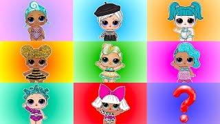 Jelly Layer LOL Surprise Game Series 3 vs Fake LOL Dolls Magic Color Board