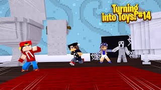 Minecraft Toys #14 - SLENDERINA HAS CAPTURED LITTLE CARLY!!