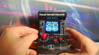 Mini máquina arcade retro!!