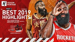 James Harden BEST Highlights & Moments from 2018-19 NBA Season! The BEARD! (LAST Part 2)