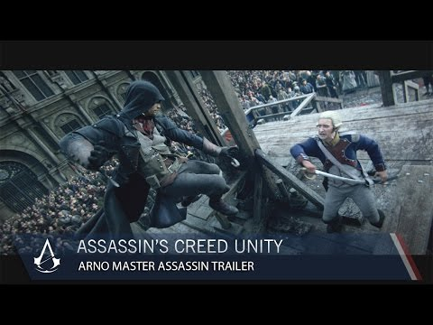 Assassin's Creed Unity Arno Master Assassin CG Trailer [US]