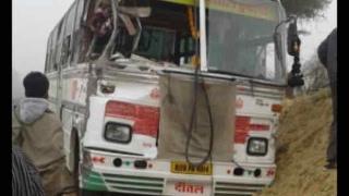 Uttar Pradesh: 15 children killed as school bus collides with a truck in Etah