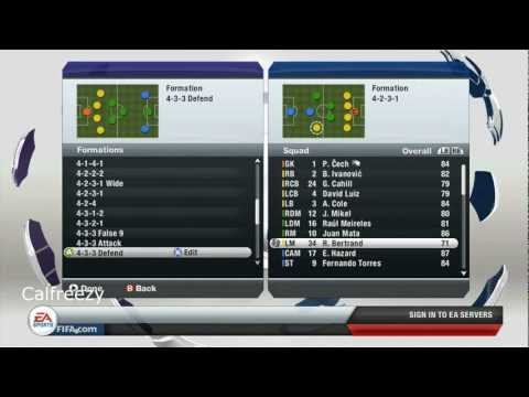 FIFA 13 Gameplay - Real Madrid vs Chelsea (HD)