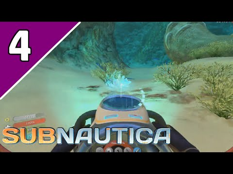 Let's Play Subnautica Survival Ep 4 | BIOREACTOR AND SEAGLIDER?! | (Subnautica Game Gameplay)