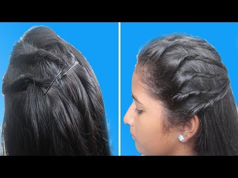 Free Hair Style Designs | Latest Hair Style For Girls | Ladies Hair Style Step By Step Tutorials