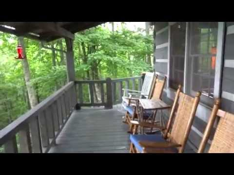 Ponderosa Cabin, Maggie Valley , NC, vacation rental outside and inside cabin