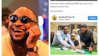 Davido signs Idowest to his label DMW.