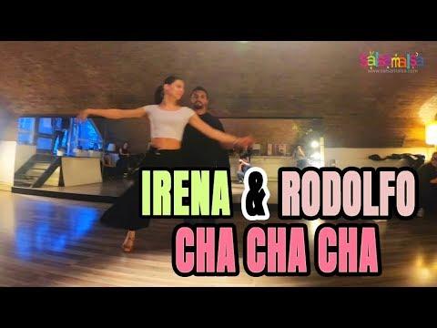 Irena & Rodolfo Cha Cha Cha Demo (Amsterdam Dance Lessons)