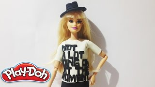 Taylor Swift - 22 Barbie Kıyafeti (Play Doh)