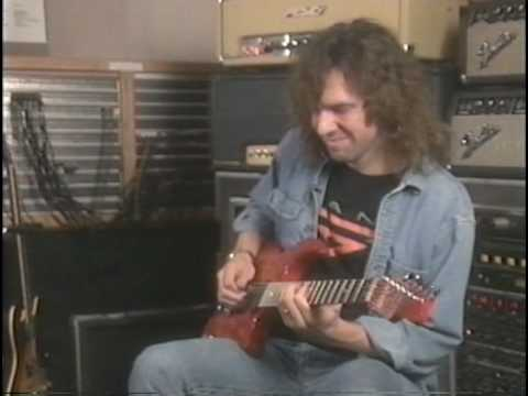 DANN HUFF- Instructional dvd-Studio work - Guitar technique /PART 2/-Time To Burn