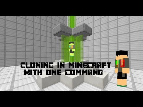 how to use the clone command in minecraft