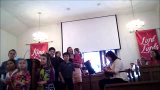 Jesus is the Rock and He Rolls my Blues Away - Vanceboro UMC Children's Choir